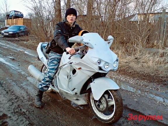Самодельный обтекатель мотоцикл