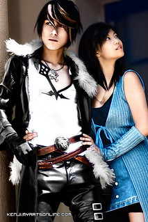 Photo by Kenji Ono; Cosplay by - bluevis (Squall) and camilliette (rinoa)