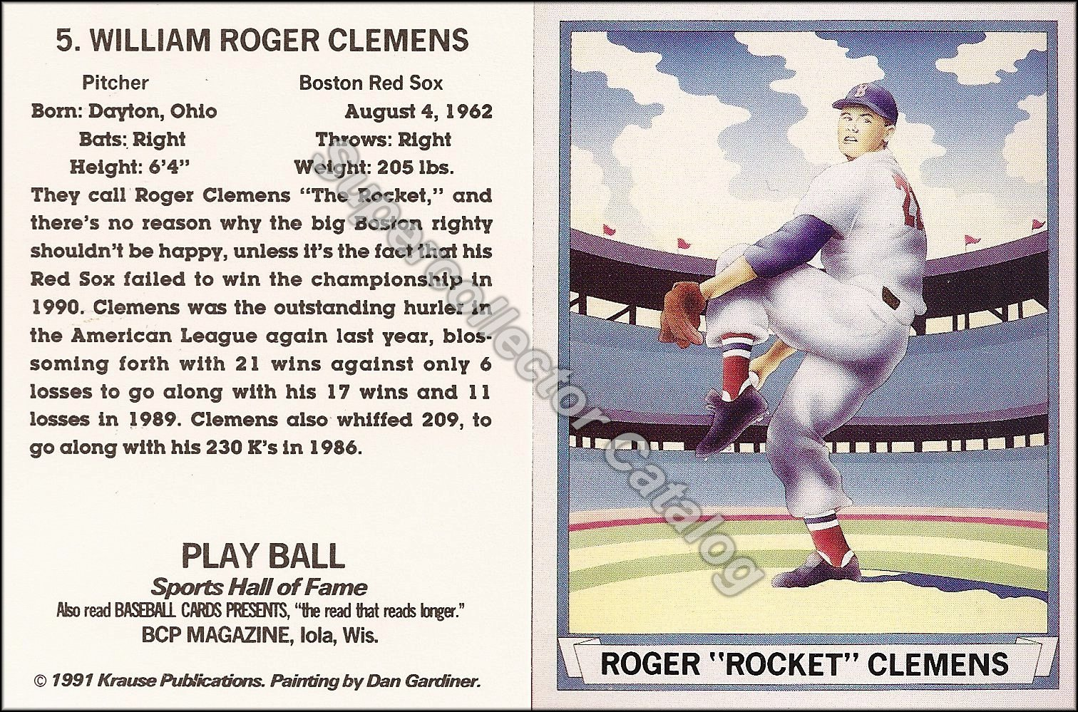 1991 Baseball Cards Presents 'Investors Guide to BB Cards' ('41 Playball)