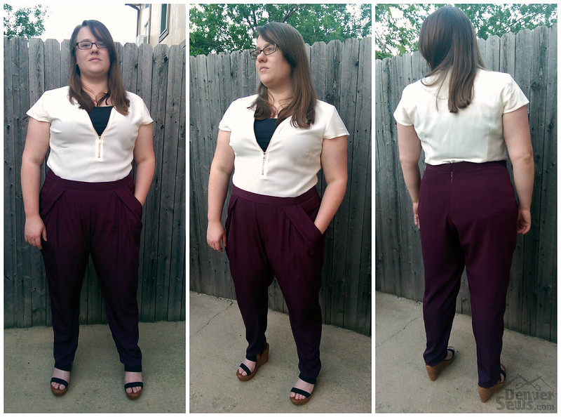 StyleArc Antionette Pants Collage