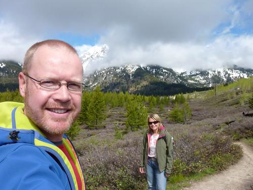 Grand Teton NP - Lake Taggart hike - 1