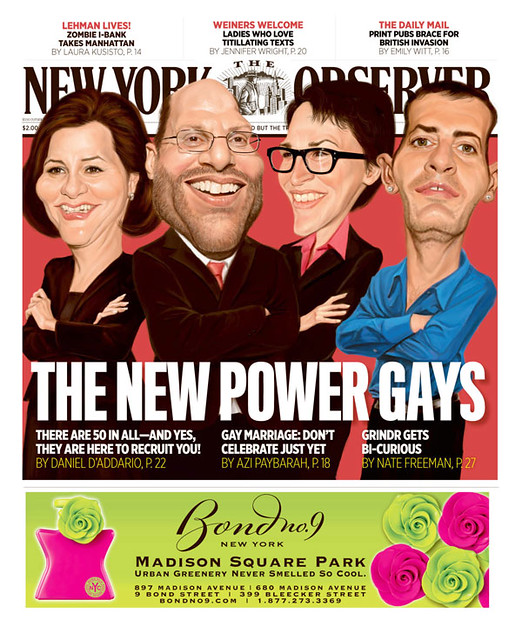 This is for their Gay Power List issue. From left to right are NYC Council ...