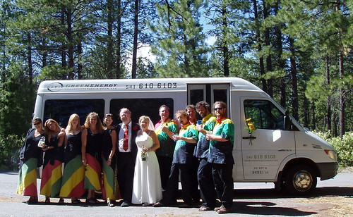 Bend Oregon Wedding Shuttle