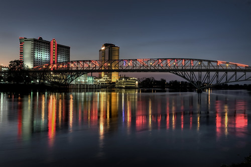 Downtown Shreveport, LA and the Texas Street Bridge