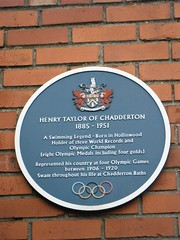 Photo of Henry Taylor blue plaque