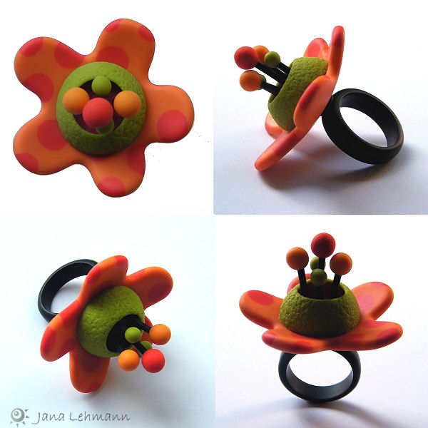 Как сделать полимерную глину цветной фото 233
