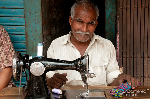Tailor on the Streets of Rajshahi, Bangladesh