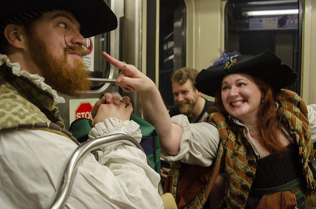 Pirates on the CTA