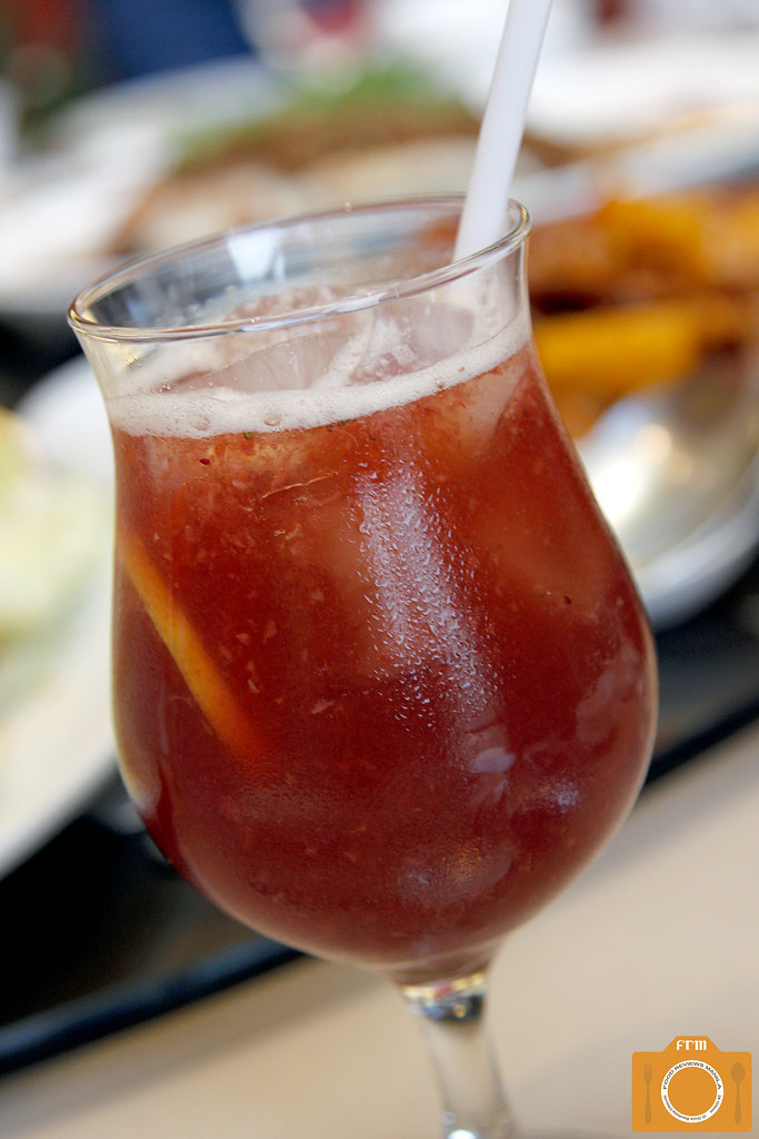 Phoenix Court Strawberry Iced Tea