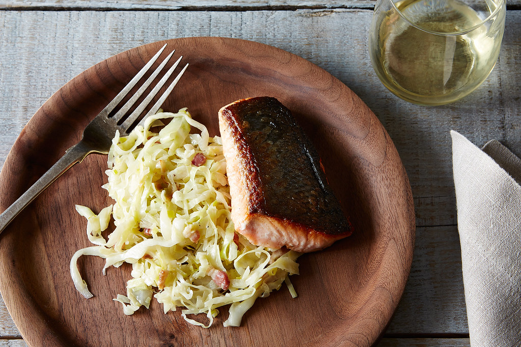Crisp-Skinned Salmon Recipe