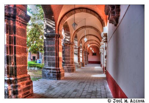 Explore 2014-05-31. San Miguel de Allende. México. Claustro del Templo de la Purísima Concepción (Las Monjas).