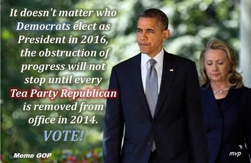 Vote 2014 Remove GOP/TP