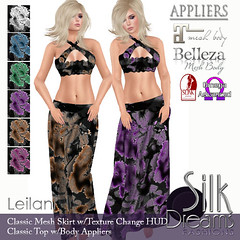Silk Dreams Leilani Poster with Appliers