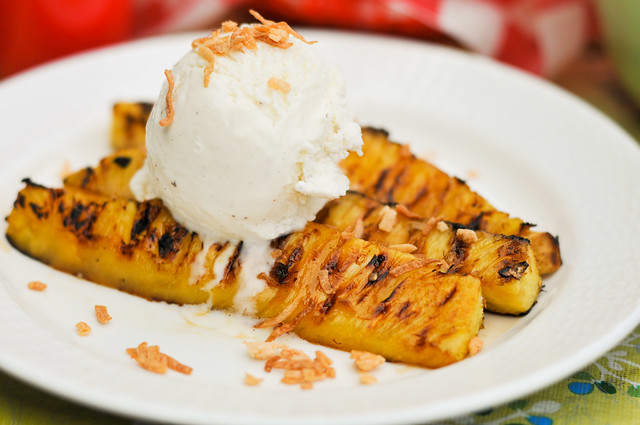 Rum-Glazed Pineapple