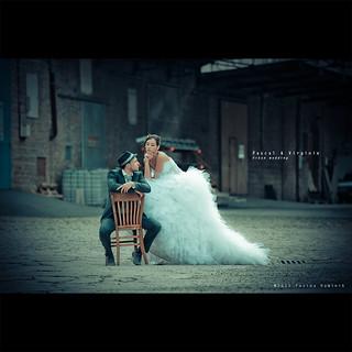 Pascal & Virginie | Urban wedding {explored}
