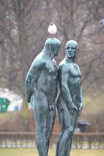 Skulpturen im Vigelandpark