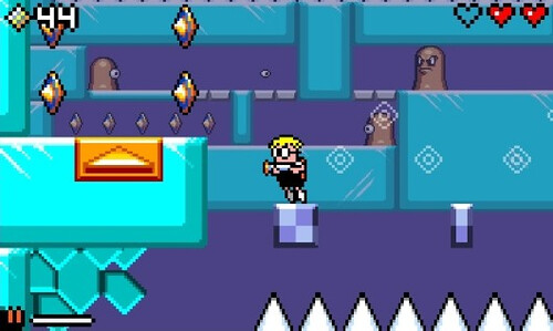 Mutant Mudds - ice stage