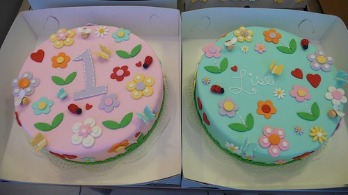 1st Birthday Cake by CAKE Amsterdam - Cakes by ZOBOT