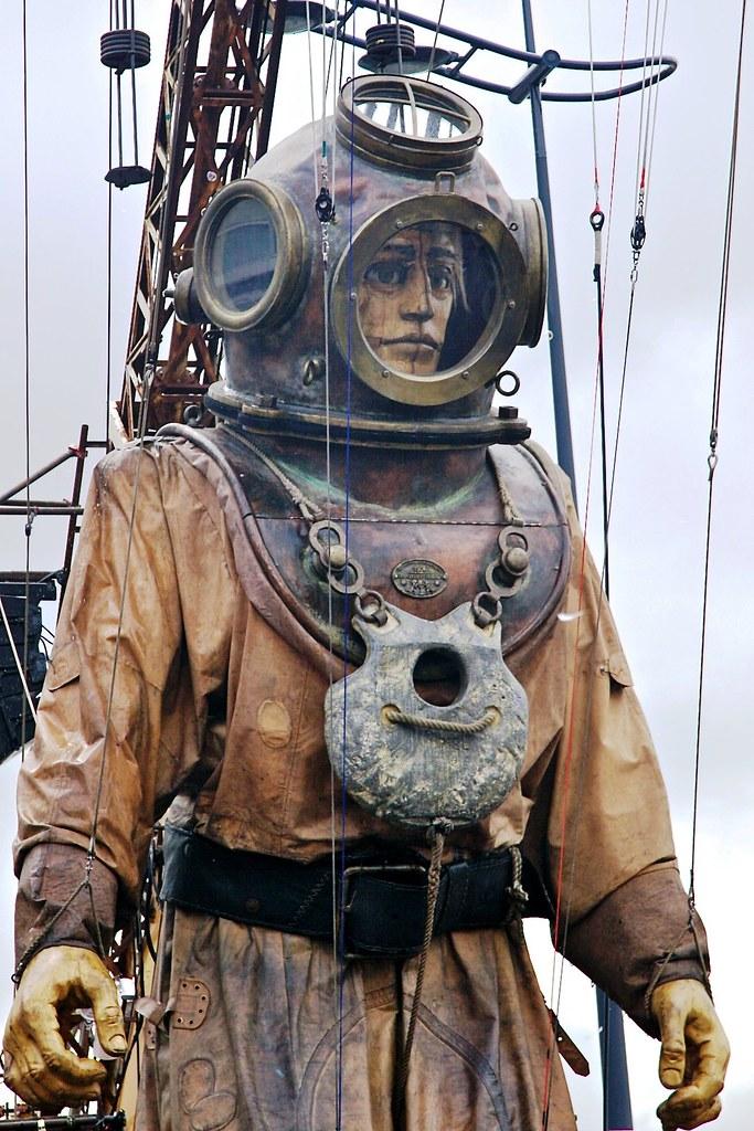 Steampunk Diver