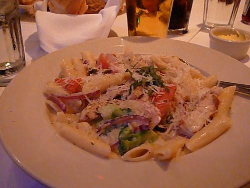 Chicken pasta for dinner
