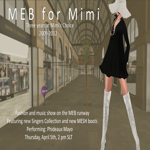 MEB celebrates 3 years at Mimi's Choice ! by mimi.juneau *Mimi's Choice*