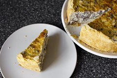 Over-the-Top Mushroom Quiche