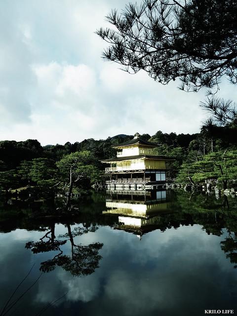 金閣寺。2