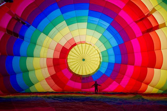Cappadocia Balloon Inflating