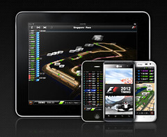Aplicación F1 Timing 2012