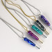 Group of Hand Turned Seam Ripper Necklaces