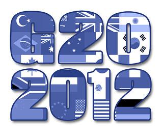 G20 2012, Blue Flags - Illustration