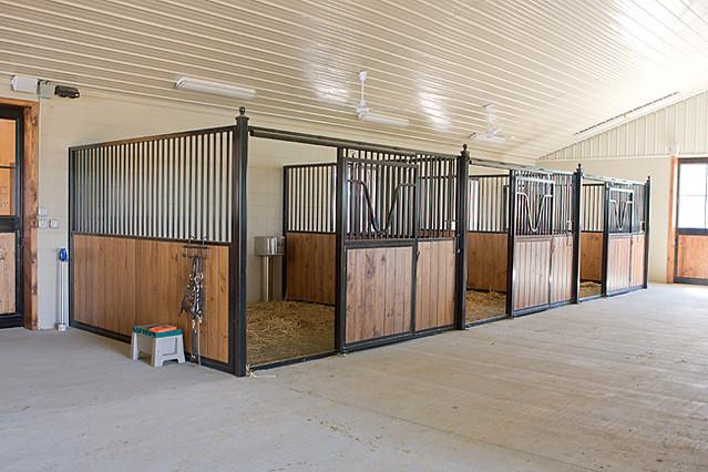 Amish Built Horse Stalls : Amish built horse stall flickr photo sharing