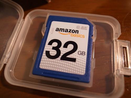 Amazon Basics SDHC