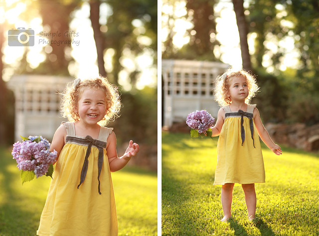 Warm sunny evening - Beautiful Portraits of Kids