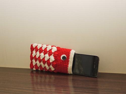 鯉魚旗手機袋