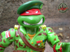 Mutant Military  TEENAGE MUTANT NINJA TURTLES :: RAPH, THE GREEN TEEN BERET iii (( 1991 ))