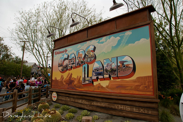 Cars Land Launch Day