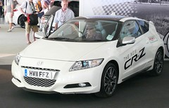 Honda CR-Z white 2011 vl