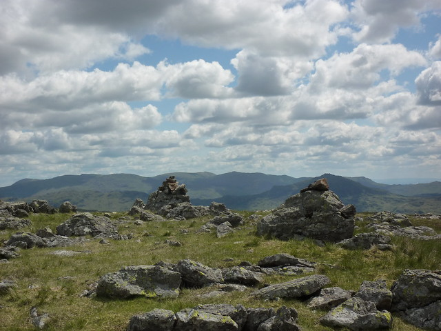 Cairns on Illgill Head
