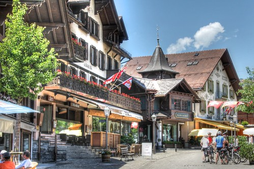 Historic Center, Gstaad