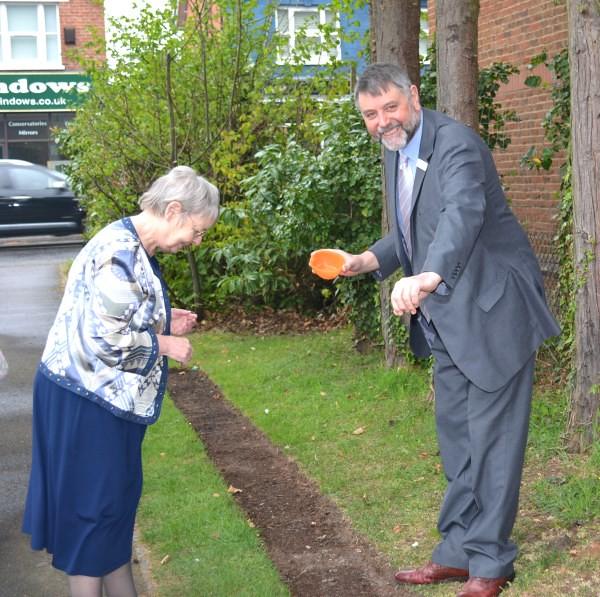 Poppy planting