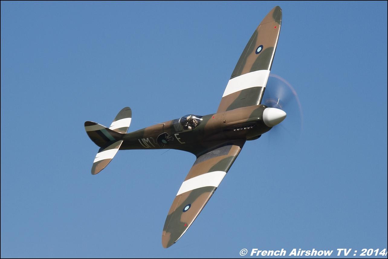 Spitfire F-AZJS Meeting Aerien Til Chatel 2014