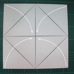 การพับกระดาษเป็นไดโนเสาร์ทีเร็กซ์ (Origami Tyrannosaurus Rex) 001