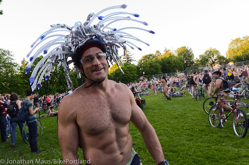 2014 World Naked Bike Ride -13