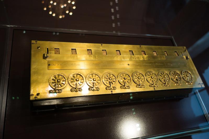 Early calculator prototype 1650