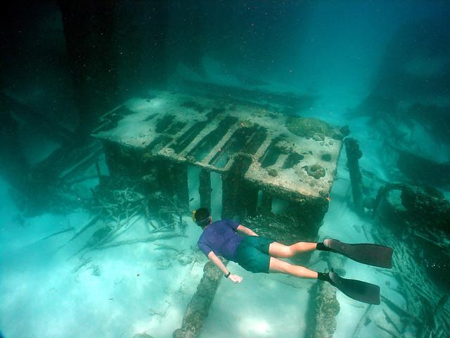 Barbados Shipwreck - NOAA - CheapCaribbean.com