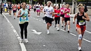 Flora Women's Mini Marathon - June 2011