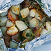 Herbed Grilled Potatoes - just cooked