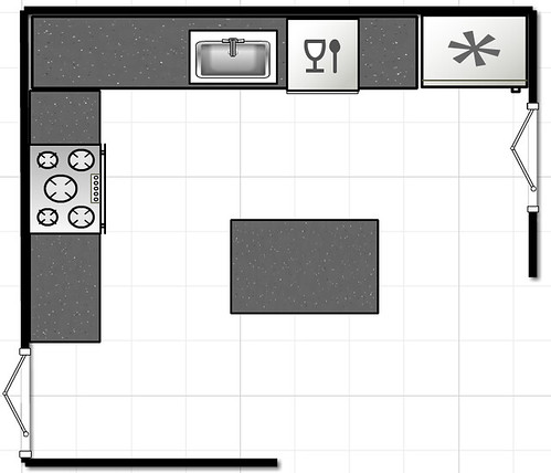The Kitchen Floor Plan