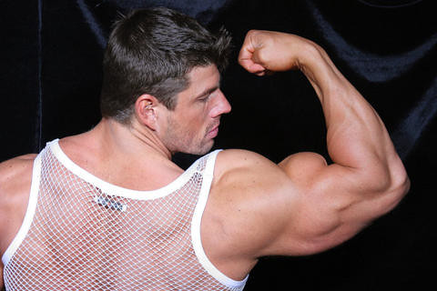 Zeb atlas has large muscles to show